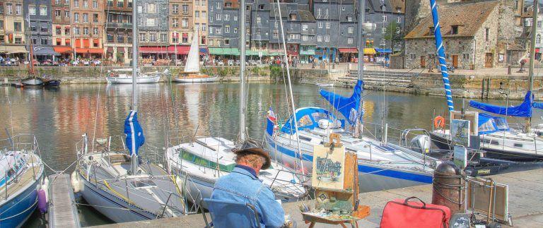 Honfleur – port – seaside resort – Normandy