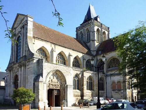 Saint-Taurin Church in Evreux