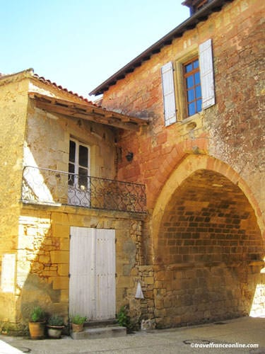 Abbaye de Cadouin - Porte Saint-Louis