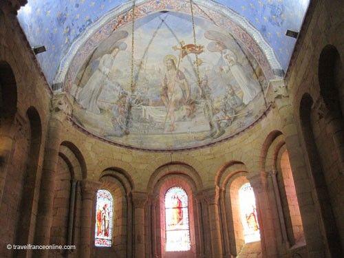 Abbaye de Cadouin - church cupola