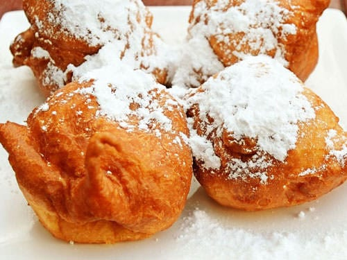 Bugnes French Fritters Recipe Mardi Gras
