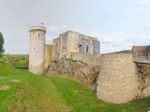 Falaise Castle entrance