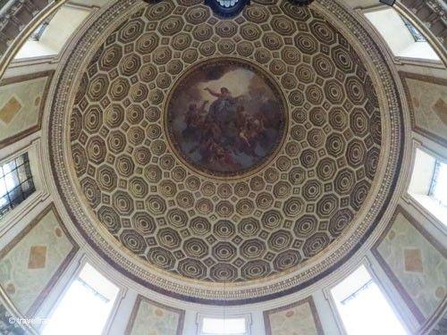 Eglise Notre-Dame-de-l'Assomption - Cupola with Assumption of Mary by Charles de la Fosse