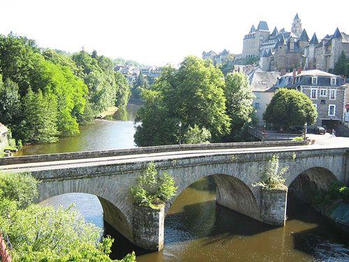 Pont Turgot in Uzerche