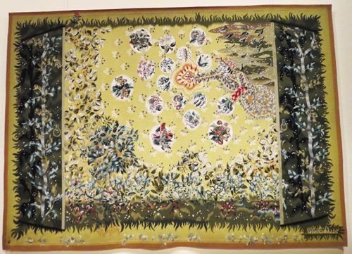 Aubusson tapestry by Lurcat