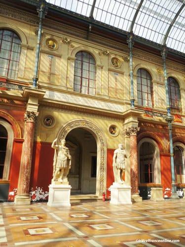 Ecole des Beaux-Arts de Paris - Cour Vitrée