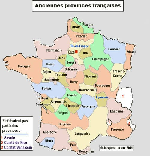 Map Of France Facts.Territorial Organization In France Facts