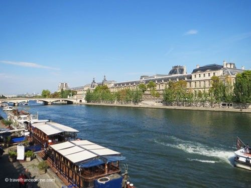 River Seine by the Louvre