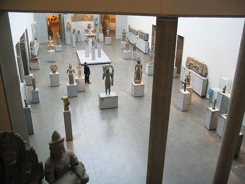 Guimet Museum - Ground-floor exhibition hall