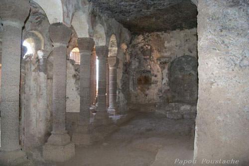 Grottes de Jonas - Romanesque chapel