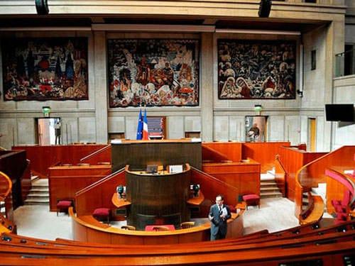 Conseil Economique, Social et Environnemental - hemicycle
