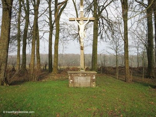 Battle of Agincourt - French soldiers' burial ground