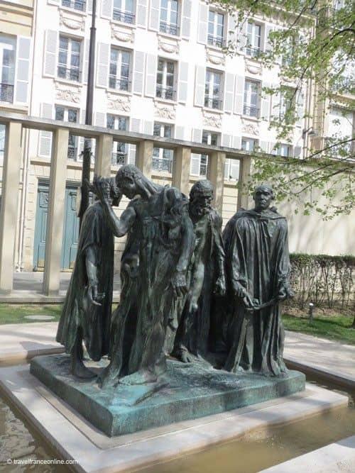 Burghers of Calais - Rodin Museum