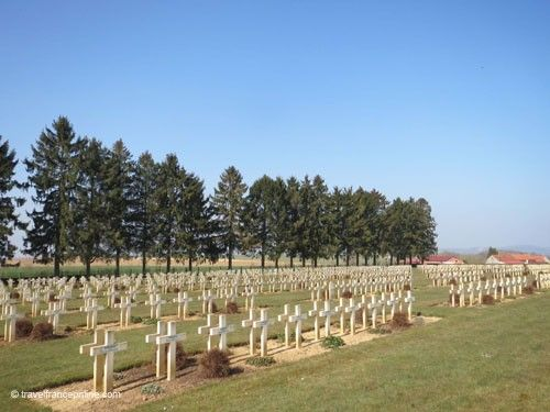 Cerny-en-Laonnois French War Cemetery