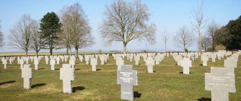 Cerny-en-Laonnois German War Cemetery – WWI