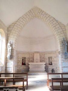 Cerny-en-Laonnoais - Memorial Chapel altar