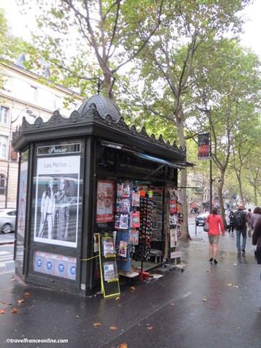 Newspaper Kiosks - Boulevard Saint-Michel