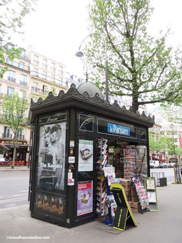 Newspaper Kiosks - Boulevard des Italiens
