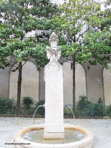Square Gabriel Pierne - Fontaine de Fragonard