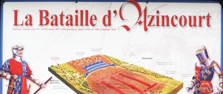 Battle of Agincourt – Hundred Years War