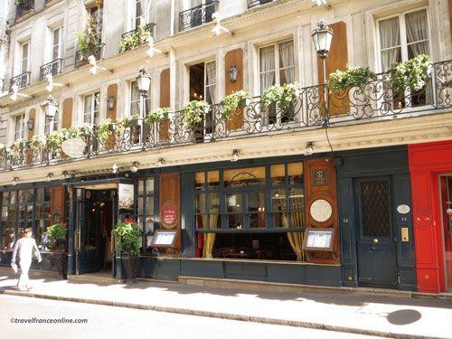 Le Procope - Entrance in Rue de l'Ancienne Comedie