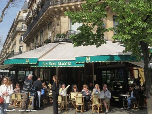 Les Deux Magots cafe