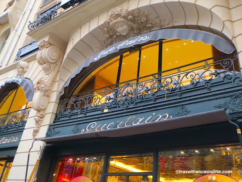 Boutique Guerlain on Champs-Elysees