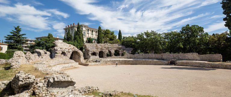 Cemelenum  – Archaeological museum – Nice Cimiez