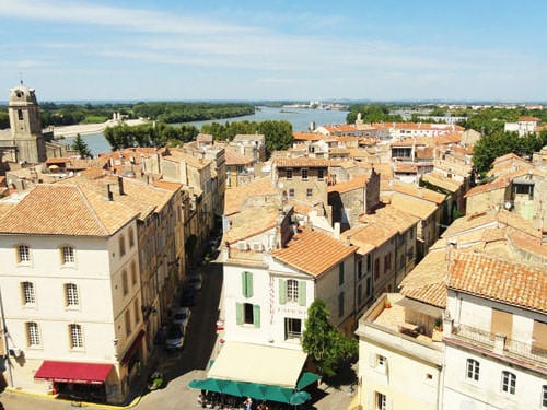 The roofs of Arles