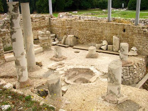 Cemelenum - Western baths