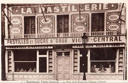 Pastilles de Vichy - An old 'pastillerie'