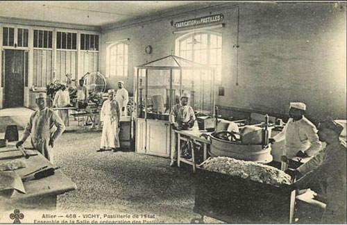 Pastilles de Vichy - Inside a 'pastillerie'