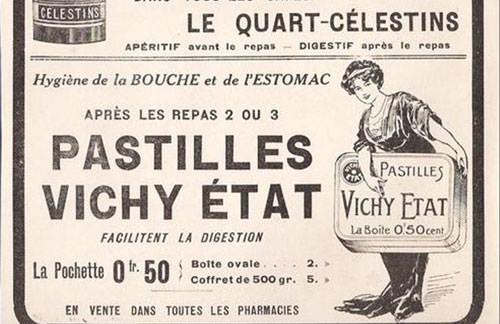 Pastilles de Vichy - Vintage Ad