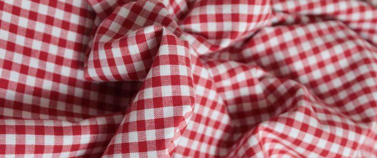 Tissu Vichy – Checkered woven fabric