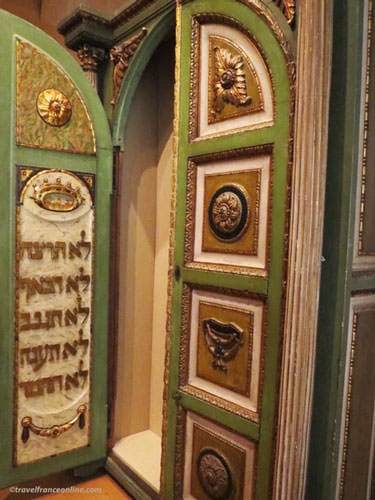 Museum of Art and History of Judaism - Thora Ark doors - Italy 18th century