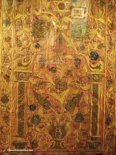 Museum of Art and History of Judaism - Thora Ark screen - Ottoman Empire 18th century