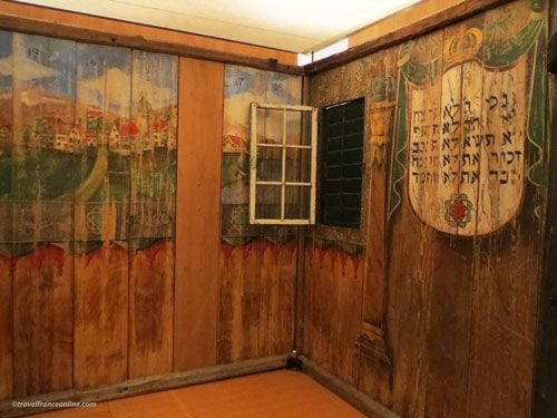 Museum of Art and History of Judaism - Wooden cabin Tabernacles Feast - Austria