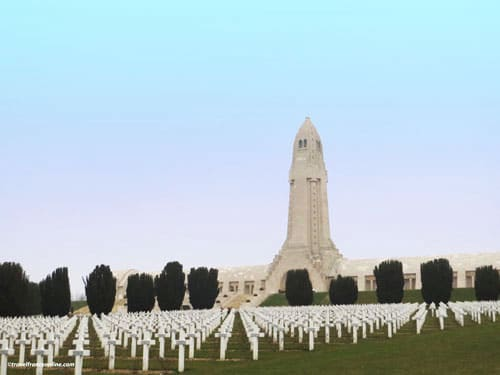 Douaumont Ossuary and necropolis