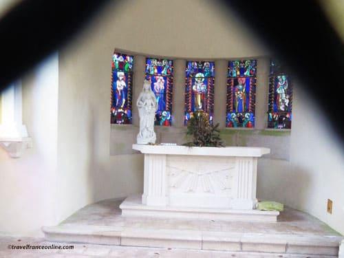 Douaumont, Village Detruit - Memorial chapel's altar