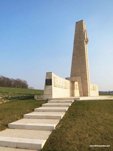 Sacred Way - Voie Sacree Memorial near Verdun