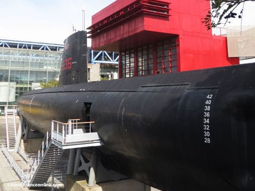 Argonaute submarine - La Villette