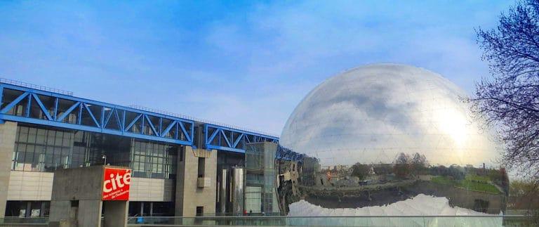 Geode movie theatre – Parc de la Villette