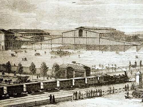 Grande Halle de la Villette - Former cattle-market of Paris in 1867