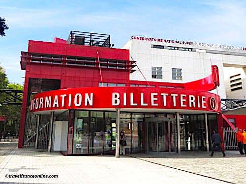 Folies in Parc de la Villette - Folie Billetterie - ticket office