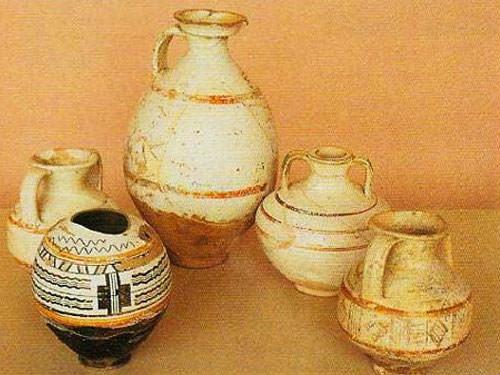 Giroussens Contemporary Ceramics Market - Vases in Montans Museum