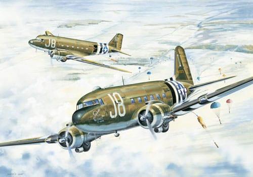 Saint-Clair-sur-l'Elle - Dakotas C-47-48