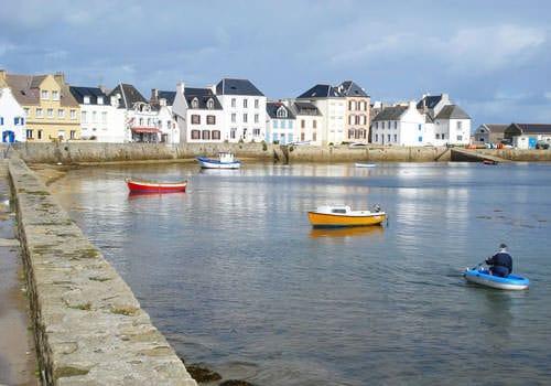 Ile de Sein harbour