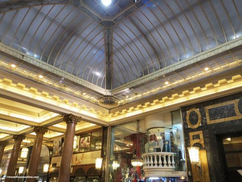 Les Arcades des Champs-Elysees - glass roof