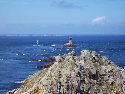 Pointe du Raz and Ile de Sein in the distance