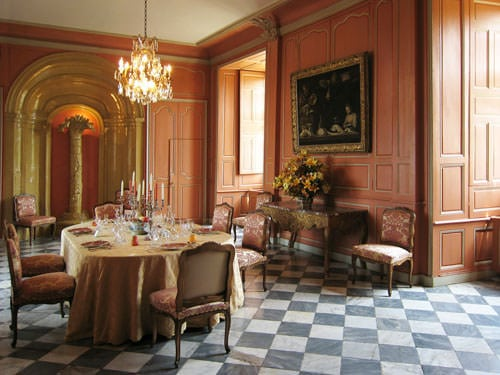 Villandry - Reception room